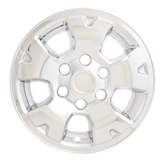 "WHEEL SKIN SET, 16"" TOYOTA TACOMA 2005-17, CHROME"