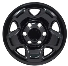 "WHEEL SKIN SET, 16"" TOYOTA TACOMA 2005-17, GLOSS BLACK"